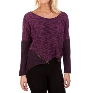 Jessica Simpson Juniors Danielle Knit Top with Zippers at Von Maur