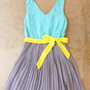 Clearwater Colorblock Dress in Mint [2540] - $24.94 : Vintage Inspired Clothing & Affordable Summer Dresses, deloom | Modern. Vintage. Crafted.