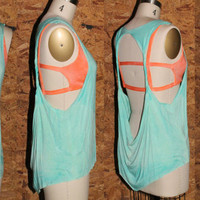 Cut Out Twisted Straps Tank Top