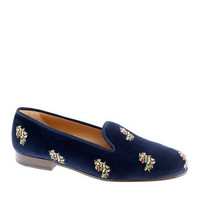 Stubbs &amp; Wootton for J.crew classic velvet slippers