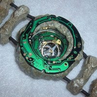 Stone Age Bracelet Circuit Boards Geek Steampunk  Unisex 3D OOAK
