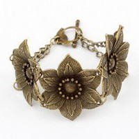 Queen&#x27;s Flower Neo-Victorian Bracelet  | LilyFair Jewelry