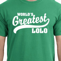 World&#x27;s Greatest Lolo Filipino grandfather T-Shirt S-2XL