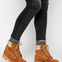 ASOS AMBLE Suede Ankle Boots