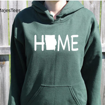 Iowa Home Hoodie, Iowa Sweatshirt, Home State Shirt