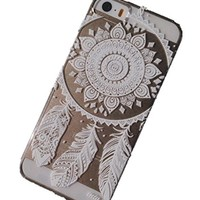 Symbolcase Plastic Case Cover for Iphone 5 5s 5c Henna Ojibwe Dream Catcher Ethnic Tribal (For Iphone 5 5s)