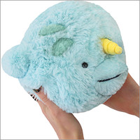 Mini Squishable Narwhal: An Adorable Fuzzy Plush to Snurfle and Squeeze!