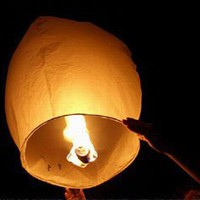 Amazon.com: 10 Sky Lanterns - White: Home & Kitchen