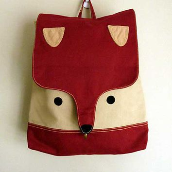 littleoddforest | Wanderlust Critter Backpack (Fantastic Fox)