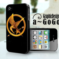 iPhone 4 Case The Hunger Games design, custom cell phone case