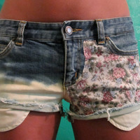 Michael Kors High Waisted Jean Shorts