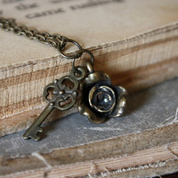 Beauty and the Beast Charm Necklace