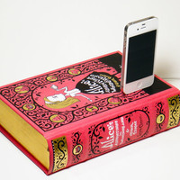 Alice in Wonderland Book Charger for iPhone 4S and iPod
