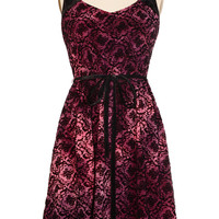 To Dye For Damask Party Dress