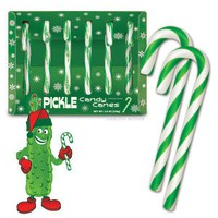 Pickle Candy Canes - Whimsical & Unique Gift Ideas for the Coolest Gift Givers
