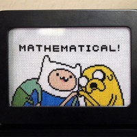 Cross Stitch Patterns - Adventure Time