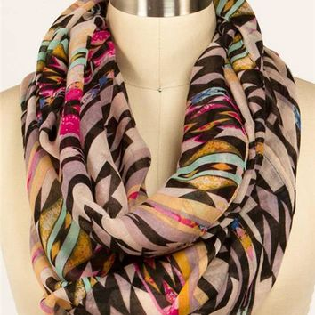 Tribal Eternity Scarf
