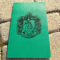 Slytherin Moleskine Notebook