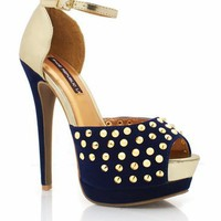 studded-peep-toe-platforms BLACK NAVY RED - GoJane.com