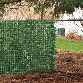 fence ivy chain link fence decorations from solutions. Black Bedroom Furniture Sets. Home Design Ideas