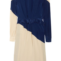 Preen | Rombus silk crepe de chine dress | NET-A-PORTER.COM