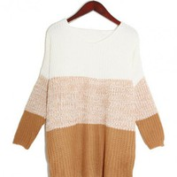 Color Block Sweater $41.00