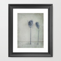 Two Framed Art Print by Susan Weller | Society6