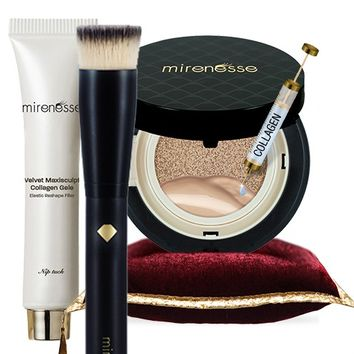 *SP Best For Sagging Skin - 10 Collagen, Maxisculpt Gele, Pro Brush Complete Collagen Trio - Mirenesse