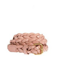 Pieces Lea Braided Jeans Belt at asos.com