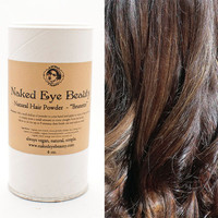 Brunette Dry Shampoo Hair Powder Natural Vegan Organic 4 oz.