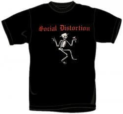 ROCKWORLDEAST - Social Distortion, T-Shirt, Skeleton