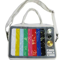 Hollywood Mirror | TV Test Pattern Laptop Bag