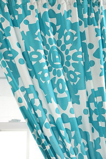 Papercut Medallion Curtain