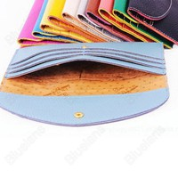 Discount China china wholesale 12 Colors Wallet Korean Women Slim Card Package Clutch Handbag [40974] - US$5.99 : Bluelans