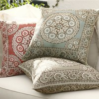 Elsa Mosaic Outdoor Pillow