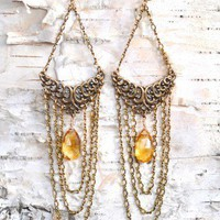 Josephine Citrine Earrings