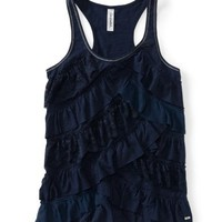 Tiered Ruffle Racerback Tank