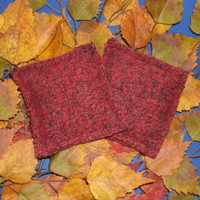 Hand Warmers Red Wool Pocket Warmers