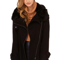 Warm Me Up Coat in Black