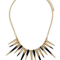 Dip Dye Spike Necklace - Jewelry  - Accessories