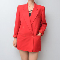Vintage Christian DIOR red Blazer