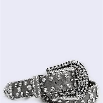 Bling Rhinestone Belt