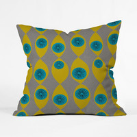 Eye of the Beholder Throw Pillow Cover