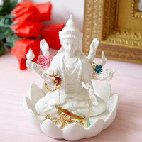 Lakshmi Jewelry Holder | White Ceramic Jewelry Holder | fredflare.com