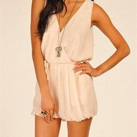 Tanny&#x27;s Couture  Romper Ivory