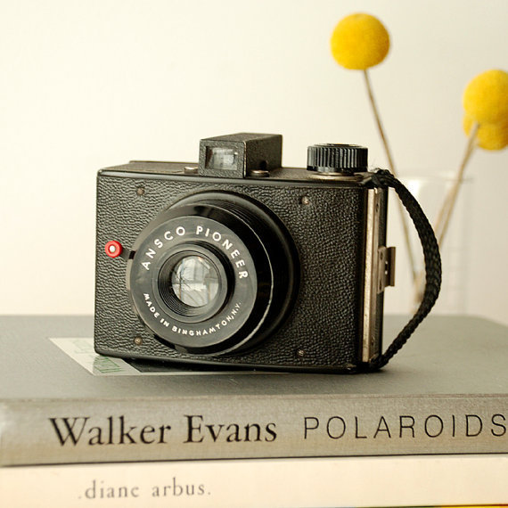 1940's Ansco Pioneer Camera -Vintage Box Camera