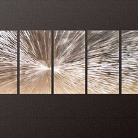 Dawn - Modern Abstract Decor Metal Wall Art Panels by donghua