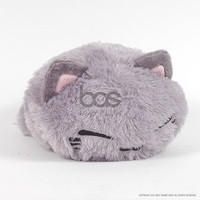 "FuRyu NemuNeko AMU-PRZ3636 Furry Grey 13.5"" Plush"