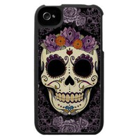 Vintage Skull and Roses iPhone 4 Speck Case