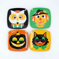 Hallow's Eve Plates - Set of 4